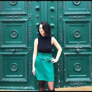 ASOS Green Pencil Skirt